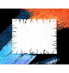 Grungy banner vector