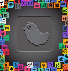 App Icons Border vector image