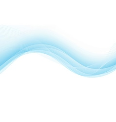 Abstract background with blue lines vector
