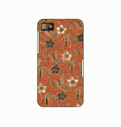 Batik phonecase 1 vector