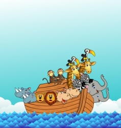 Noah's ark vector image vector image