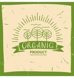 Organic product hand drawn three fruit vector
