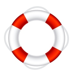 Lifebuoy sign symbol vector