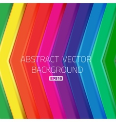 Abstract bright lines arrows background wallpaper vector image