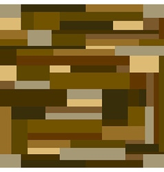 Brown wood block background seamless pattern vector