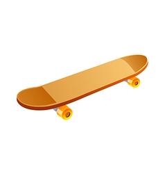 Icon skateboard vector