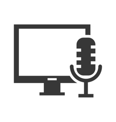 Monitor computer device vector