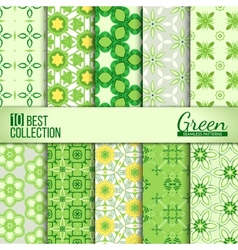 Spring summer backdrops collection vector
