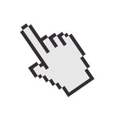 hand cursor icon vector image