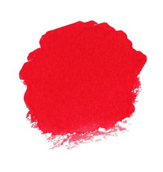 Red watercolor spot vector