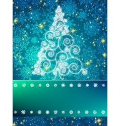 Elegant christmas background eps 8 vector