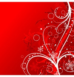 christmas background decoration vector image vector image