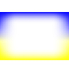 Yellow Blue Copyspace Background vector image