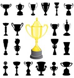 reward cup vector image