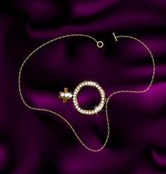 Bracelet female vector