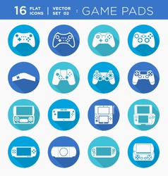 Game pads vector