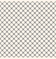 Seamless pattern circular lattice mesh vector