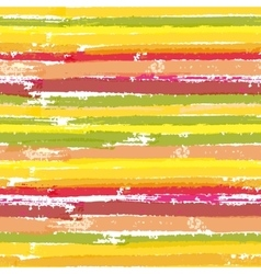Seamless pattern with color brush stripes vector