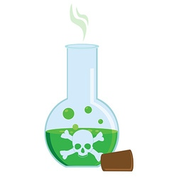 Toxic potion vector image vector image