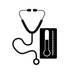 Stethoscope medical tool vector