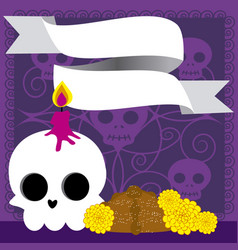 Day of the dead 12 vector