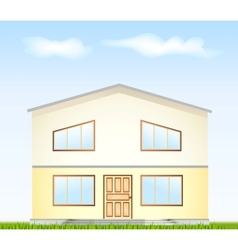 Real Estate For Sale facade vector image