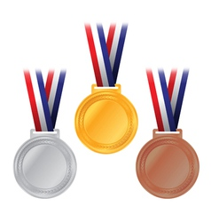 Olympic medals vector