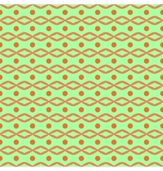 Circle and rhombus seamless pattern vector