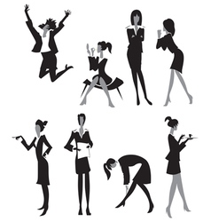 Women in office vector