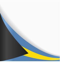 Bahamas flag background vector