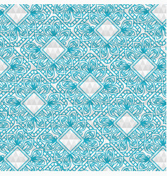 Color mandala pattern background vector