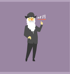 Famous naturalist and geologist - charles darwin vector