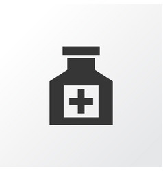 Pain reliever icon symbol premium quality vector