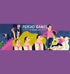 Psycho games vector