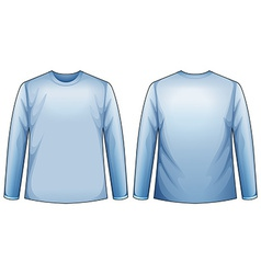 Blue shirt vector