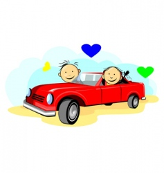 relationship vector image