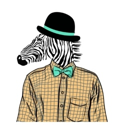 Hand Drawn Fashion of dressed up vector image vector image
