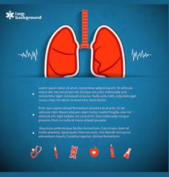 Human organs concept vector