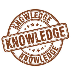 Knowledge stamp vector