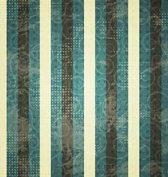 Vintage blue line seamess pattern vector