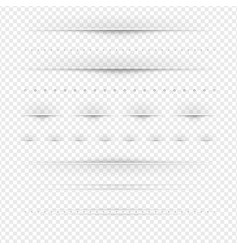 set of dividers big set vector image