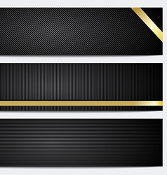 Banner and header backgrounds vector image
