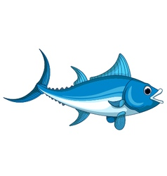 Tuna fish cartoon vector
