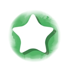 Star favorite isolated icon vector