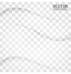 Transparent background curve vector
