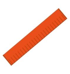 Measuring ruler icon vector