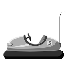 Children bumper machine icon vector