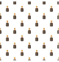 Employee oil industry pattern vector