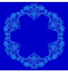 Lines artistic ottoman pattern series fifty four vector