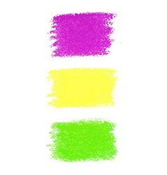 Mardi gras pastel crayon spots vector